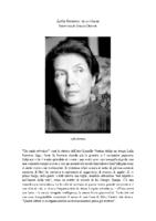 Grazia Cherchi intervista Lalla Romano