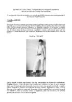 La storia di Carla Cerati, l'indimenticabile fotografa-scrittrice da Elle, maggio 2020