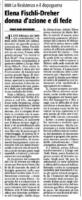 La resistenza e il dopoguerraElena Fischli-Dreher donna d'azione e di fededi Piera Egidi Bouchardda Riforma 3 Aprile 2009 p.5