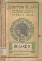 Aurelia Josz Matteo Maria Boiardo (1434-1494)